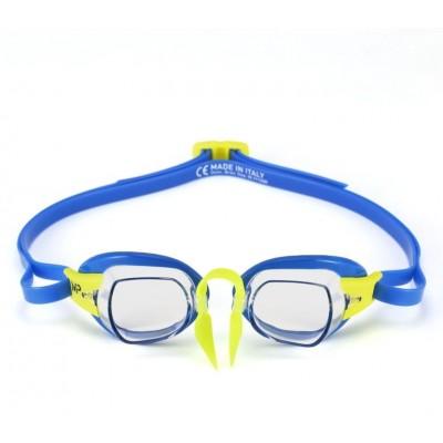 Michael Phelps plavecké brýle CHRONOS  čirý zorník modrá/žlutá