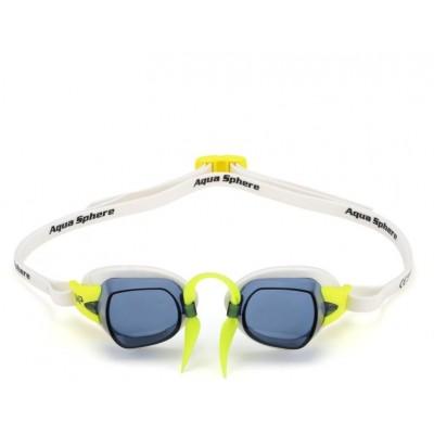 Michael Phelps plavecké brýle CHRONOS  tmavý zorník bílá/žlutá