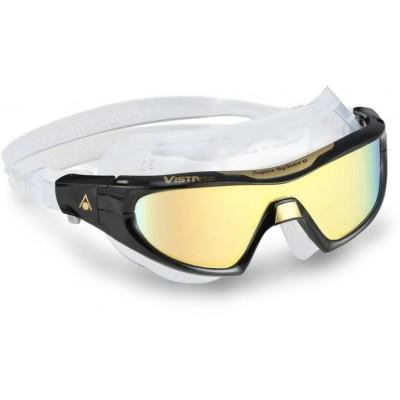 Aqua Sphere plavecké brýle VISTA PRO TITANIUM GOLD MIRRORED  zrcadlový zorník