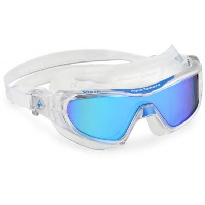 Aqua Sphere plavecké brýle VISTA PRO TITANIUM BLUE MIRRORED zrcadlový zorník