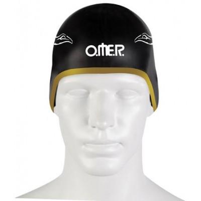 Omer Umberto Pellizzari plavecká čepice UP-SC1 SWIMMING POOL černá