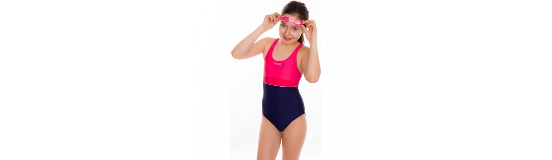 Dívčí a chlapecké plavky